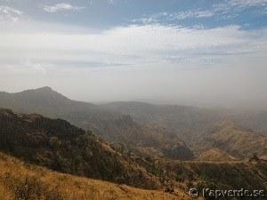 Vacker natur på ön Santiago