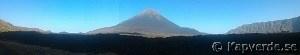 Panoramabild vulkanen