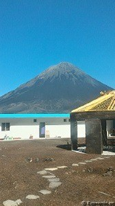Pensionat vid vulkanen i Cha das Caldeiras