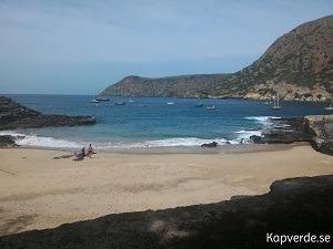 Liten vacker strand